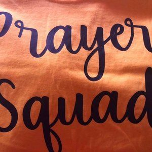 PRAYER SQUAD T-shirt Sz XXL